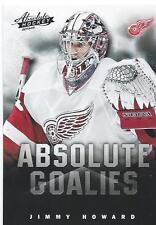 2013-14 Panini Absolute Hockey Boxing Day JIMMY HOWARD NHL Goalies #15