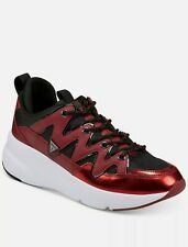 NEW GUESS GMTANE Dark Red SY Lace Up Sneakers Shoes 7.5M MSRP $120