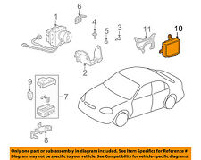HONDA OEM 1998 Civic ABS Anti-Lock Brake System-Control Module 39790S04G02