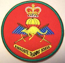 Australia Australian Army Parachute Training School Patch (Red)