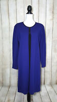 Liz Claiborne Womens Dress Sweater Casual Wool Blend Purple Size Xtra Large