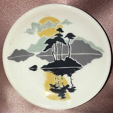 Estate Collectable Small Highland China Butter Pat Pin Dish Vintage Scotland