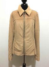 GAS Chaqueta Chaqueta De Mujer Alcantara Woman Jacket Americana M Sz. - 44