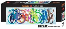 Heye Puzzles - Panorama 1000 PC - colourful Row