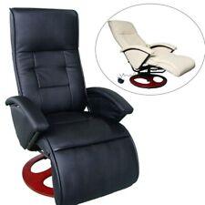 Massagesessel Elektrisch Fernsehsessel Relaxsessel mehrere Auswahl Schwarz Creme