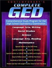 Contemporary's Complete Ged: Comprehensive Study Program for the High School Equ