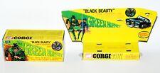 Reprobox Corgi Toys Nr. 268 - The Green Hornet Black Beauty mit Innendisplay