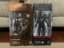 Star Wars The Black Series Carbonized Mandalorian & Elite Squad Trooper (NEW)