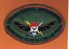 EL-SALVADOR COMANDO ESPECIAL ANTI TERRORISTA SECR. DE ESTADO DE LAS FFA PATCH