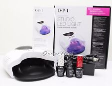 OPI GelColor STUDIO LED LIGHT Lamp GL901 + Base +Top Coat + 1 ANY Colors SET KIT