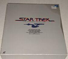 Star Trek Collection (I-VI) Laserdisc BOX NTSC LD-G PILF-1572