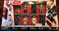 STAR WARS THE LAST JEDI ERA OF THE FORCE TARGET EXCLUSIVE 8 PACK (Brand New)
