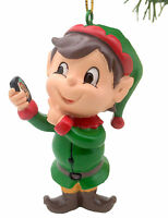 Tree Buddees Elfie Selfie Christmas Ornament Funny Ornaments Elf on Cell Phone