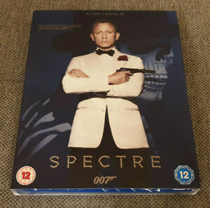 Blu Ray James Bond 007 Spectre Brand New Sealed with Sleeve