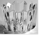 Orrefors  FLEUR Crystal Bowl Designed by Jan Johansson