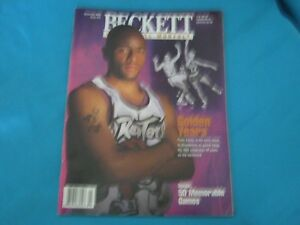 BASKETBALL BECKETT MONTHLY NOVEMBER 1996 ISSUE #76 DAMON STOUDAMIRE / A MOURNING