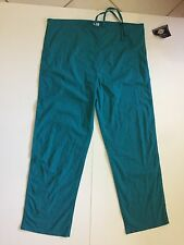 Dickies Medical Scrubs Uniform Pants Green String Adjust Size 36-40 inches NWT