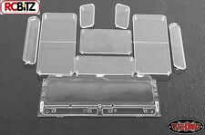 RC4WD Land Rover Defender D90 Plastic Clear Window Set Z-B0053 Gelande 2 Body