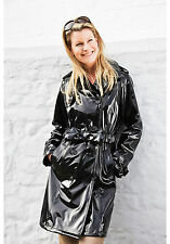 Ladies Rainmac Waterproof Trench Coats Full or ¾ Length Raincoats Breathable