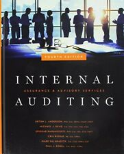 INTERNAL AUDITING: ASSURANCE & ADVISORY SERVICES, FOURTH By Urton L. Anderson