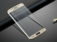 For Samsung Galaxy S7 - 100% Genuine Tempered Glass LCD Screen Protector - GOLD