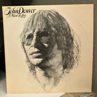 """JOHN DENVER - I Want To Live (AFL1-2521) - 12"""" Vinyl Record LP - EX"""