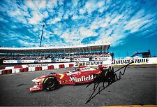 Jacques Villeneuve SIGNED 12x8 F1 Williams FW20, Brazilian GP Interlagos 1998