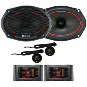 """MB Quart RS1-269 Reference Series 6"""" x 9"""" 2-Way Component Speakers 6x9 Comp NEW"""