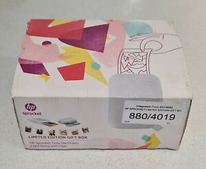 HP Sprocket - Portable Instant Photo Printer With Limited Edition Grey Hard Case