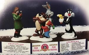 DEPT 56 Snow Village ~ LOONEY TUNES ANIMATION FILM FESTIVAL ~ #54983  in Box