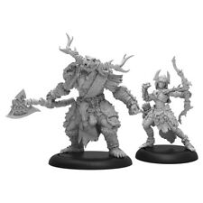 Hordes Circle Orboros Brighid & Caul PIP72106 Brand New Free Shipping