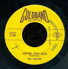 45bs-Louisiana R&B-GOLDBAND 1098-Big Walter ****PROMO