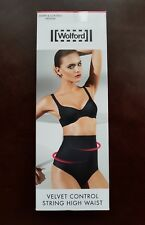 New Wolford Velvet Control String High Waist