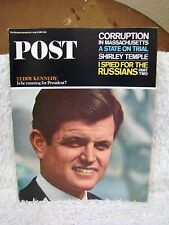 Saturday Evening Post Back Issue, June 5, 1965 Teddy Kennedy: Is He Running...