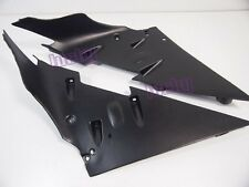 Left Right Inner Fairing Parts For Kawasaki Ninja C1H C2H ZX10R 04 05 Black #lu