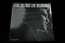 Elvis THE FIRST LIVE RECORDINGS LP - SEALED MINT 1982 THE MUSIC WORKS PB 3601