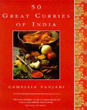 50 Great Curries of India, Panjabi, Camellia, Very Good Book