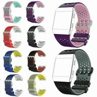 Sport Silikon Armband Uhrenarmband Band Ersatz Strap für Fitbit Ionic Watch Uhr