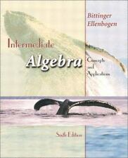 Intermediate Algebra : Concepts and Applications by Marvin L. Bittinger and Davi