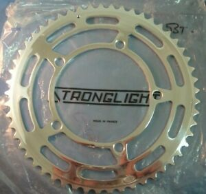 Stronglight 93 53Tx 122BCD  NEW/NOS Vintage Road Chainring- Hi-Polish- NIB