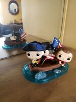FUNKO POP WASHINGTON CROSSING DELAWARE SDCC 2019 WITH BETTY'S ROSS FLAG