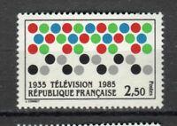 s25357) FRANCE 1985 MNH** Television 1v