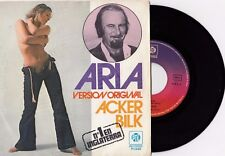 "ACKER BILK THE FOOL ON THE HILL THE BEATLES 1976 RECORD SPAIN 7"" PS NUDE COVER"