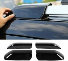 4pcs Roof Rails Rack End Cap Protection Cover for Toyota 4Runner 2010-2019 Black (Fits: Toyota)