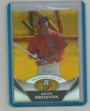 KEON BROXTON (Arizona) 2011 BOWMAN PLATINUM PROSPECTS/ROOKIE GOLD #25/50 !!