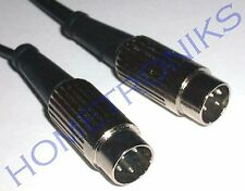 AUDIOPHILE 4 PIN DIN TO DIN INTERCONNECT CABLE, LEAD FOR QUAD 1.8 METRE