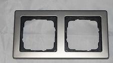 GIRA E2 System 55 2- fach Rahmen helles bronze (P9)