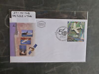2003 ISRAEL 50tH ISRAEL AIRCRAFT INDUSTRIES STAMP W/- TAB FDC FIRST DAY COVER
