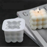 DIY Candle Mould Soy Wax Aromatherapy Plaster Candle 3D Silicone Soap Mold