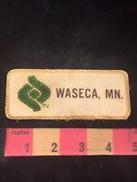 Vintage WASECA Minnesota Patch 81Z7